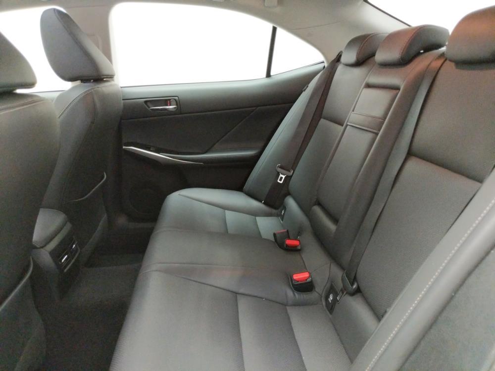 2015 Lexus IS 250 - Driver Rear Seat