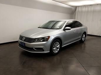 2016 Volkswagen Passat - Driver Front Bumper
