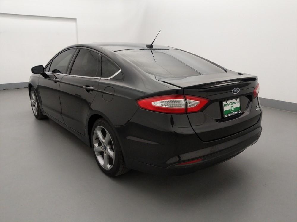 2014 Ford Fusion - Driver Rear Bumper